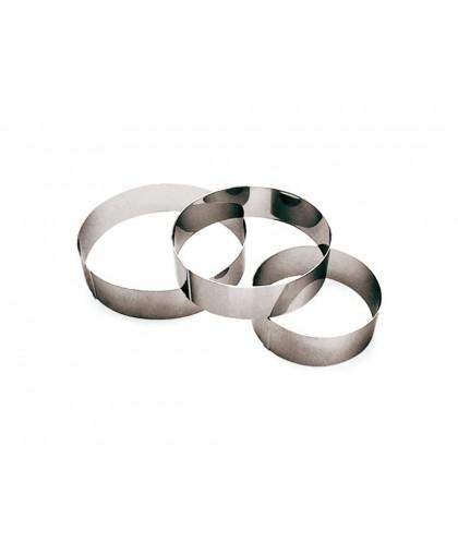 Кольцо для торта D180 мм,H50 мм,металл.